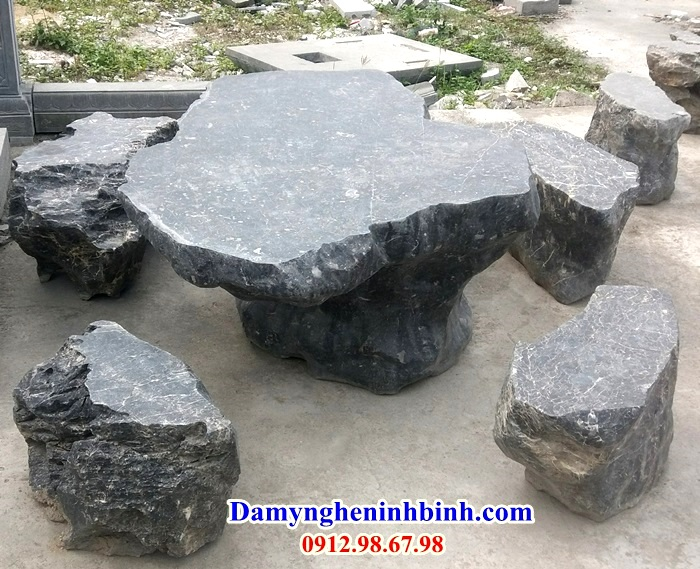 Bàn ghế đá NB 04