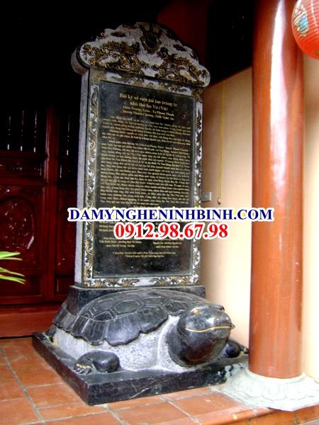 Bia mộ đá Ninh Bình
