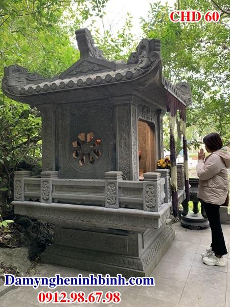 Cây hương đá thờ gia đình chung cư đẹp 60