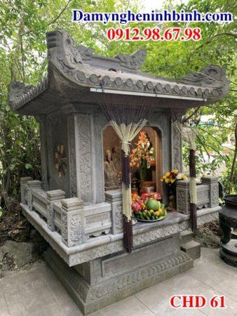Cây hương đá thờ gia đình chung cư CHD 61
