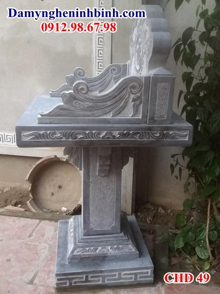 Cây hương bàn thờ đá ngoài trời 49