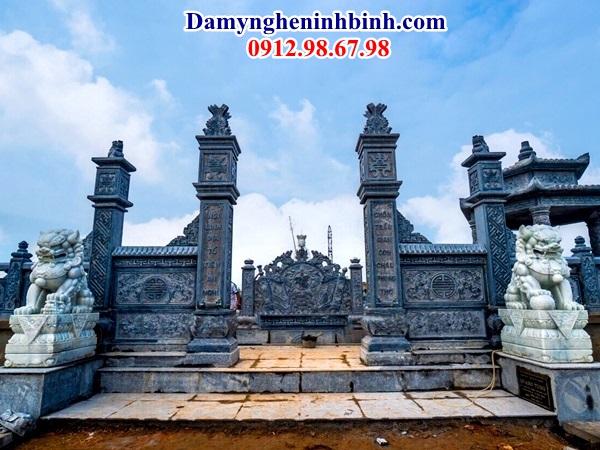 Cổng đá đẹp khu lăng mộ 58