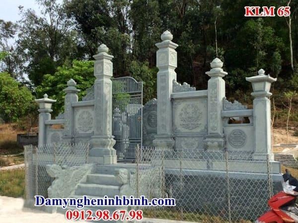 Cổng đá khu lăng mộ 65