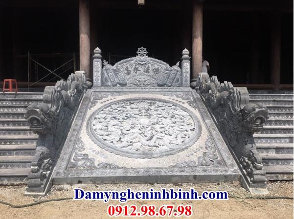 Chiếu rồng đá đền chùa 21