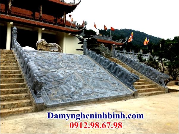 Chiếu rồng đá đền chùa 24