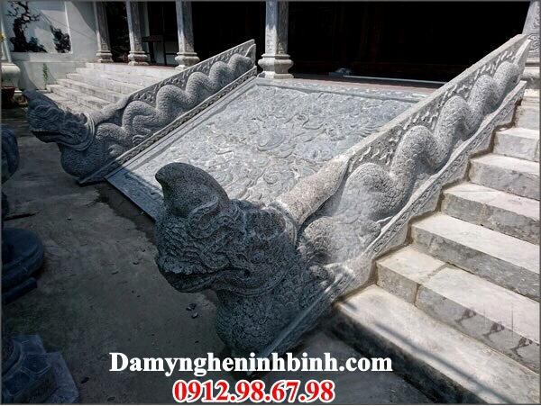 Chiếu rồng đá đình đền chùa 17