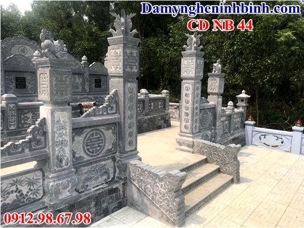 Cổng đá khu lăng mộ 44