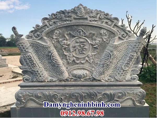 Cuốn thư đá khu mộ 40