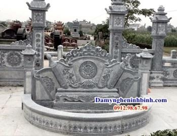 Cuốn thư đá trong khu lăng mộ