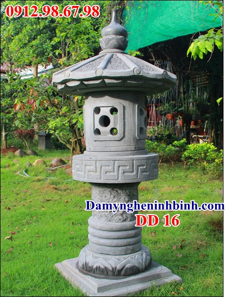 Đèn đá sân vườn đẹp 16