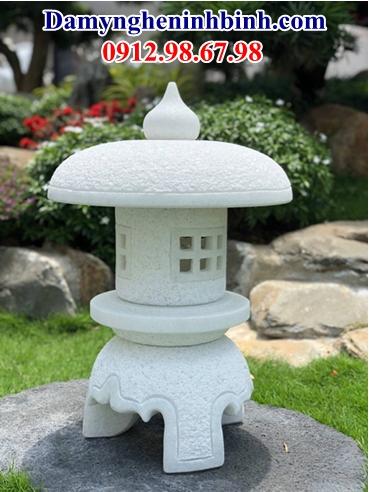 Đèn đá trắng sân vườn 33