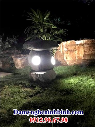 Đèn đá tự nhiên 34