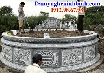 Giá mộ đá tròn bao nhiêu