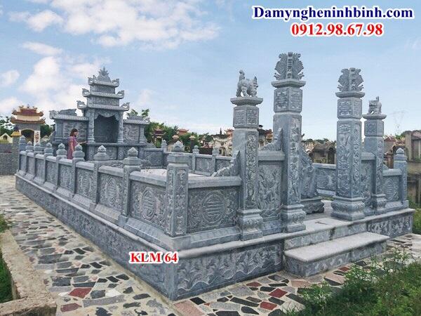 Khu lăng mộ đá nghĩa trang gia đình dòng họ 64