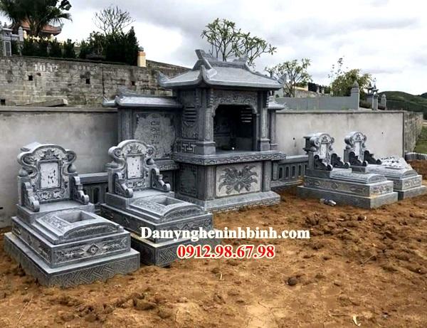 Khu lăng mộ đẹp ở Ninh Bình