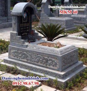 Lăng mộ đá đẹp MKM 60