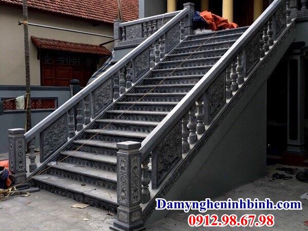 Lan can cầu thang đá 58