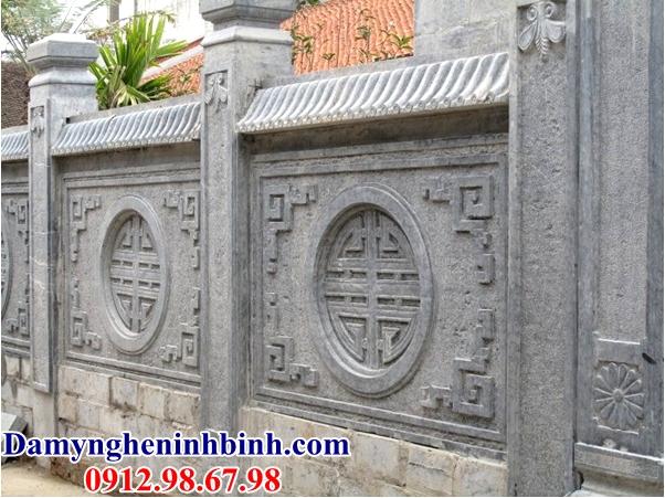 Lan can đá đình chùa 36
