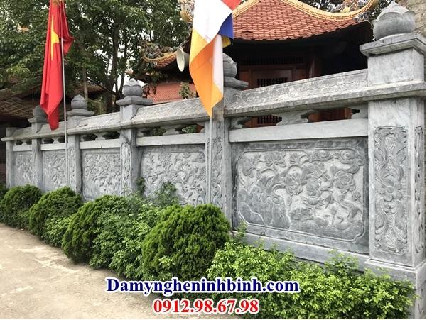 Lan can đá granite