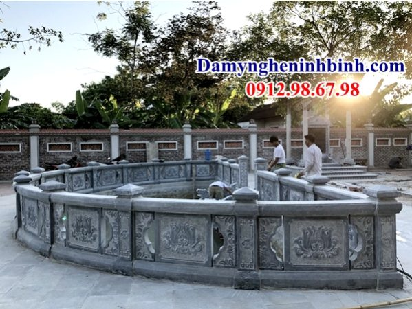 Lan can đá Ninh Bình 55