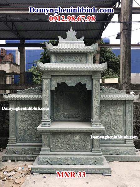 Lăng thờ am thờ đá xanh rêu 33