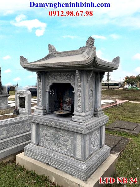 Long đình đá mái chùa NB 34