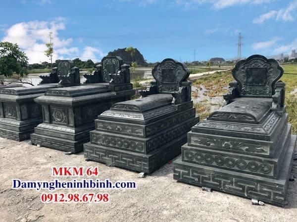 Mẫu mộ đá đẹp MKM 64