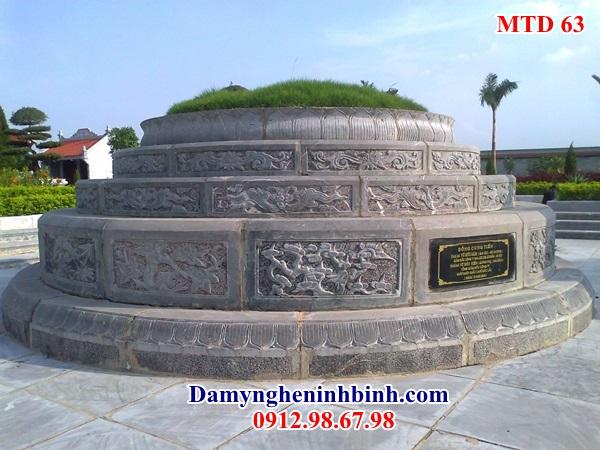 Mẫu mộ tròn đá đẹp 63