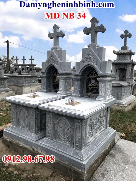 mộ-đá-đôi-công-giáo