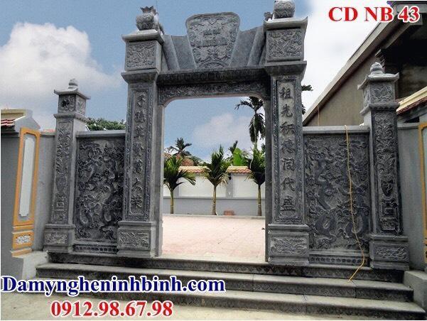 Mẫu cổng nhà thờ bằng đá NB 43