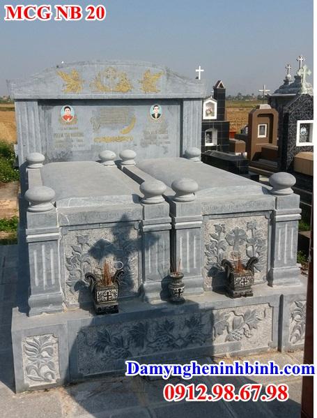 Mẫu mộ công giáo đẹp 20