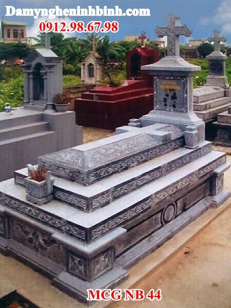Mẫu mộ đá công giáo đẹp 44