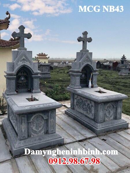 Mẫu mộ đôi công giáo 43