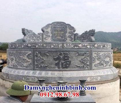 Mẫu mộ tròn đá NB 28