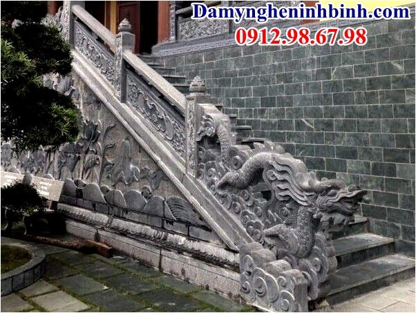 Rồng bậc thềm đình chùa 38