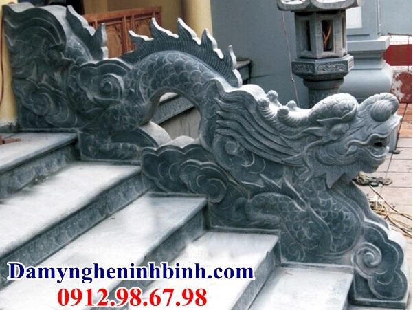 Rồng đá bậc thềm phong thủy