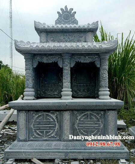 Xây mộ hình tròn đẹp