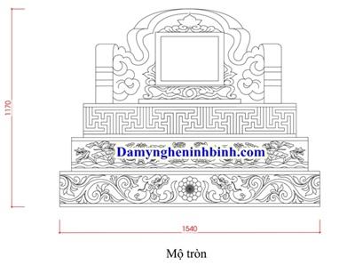 Xây mộ theo thước lỗ ban