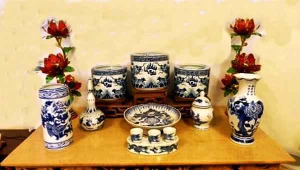 cách sắp xếp bát hương trên bàn thờ