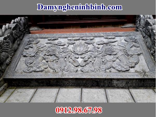 Chiếu rồng đá đền chùa 29