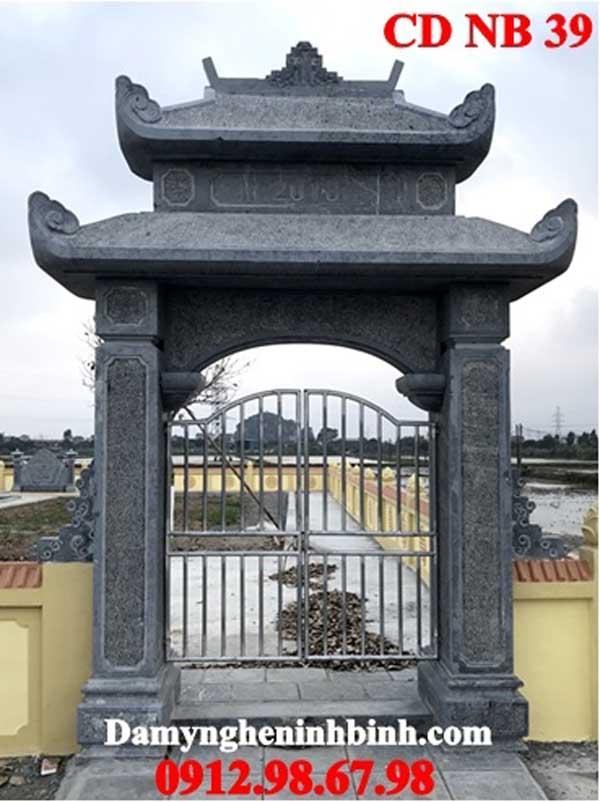 cổng đá đẹp