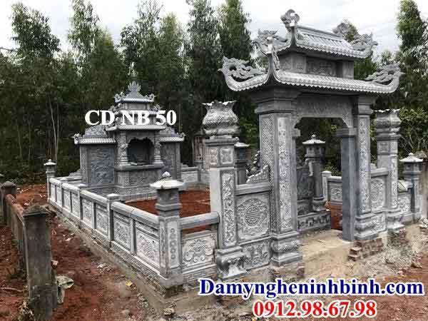 cổng xây bằng đá