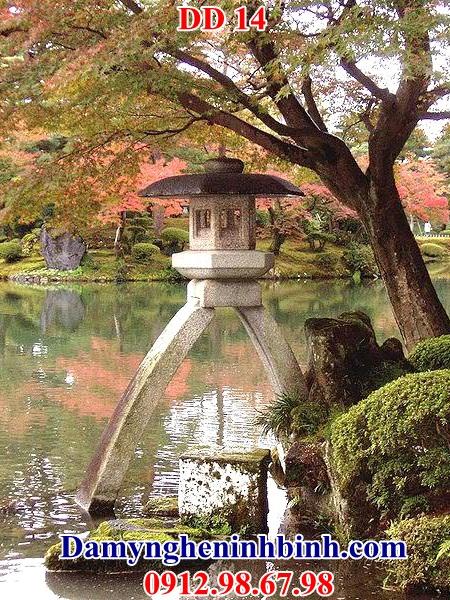 Đèn đá trang trí sân vườn 14