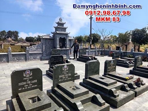 địa chỉ cung cấp các mẫu mộ xây đẹp bằng đá đơn giản