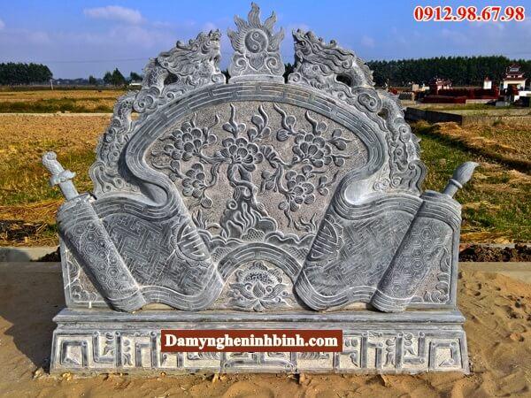 giá khu lăng mộ đá đẹp