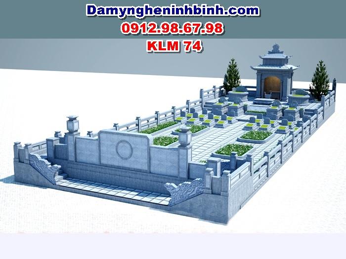 khu lăng mộ đá đẹp dòng họ gia đình nghệ an đồng nai klm74