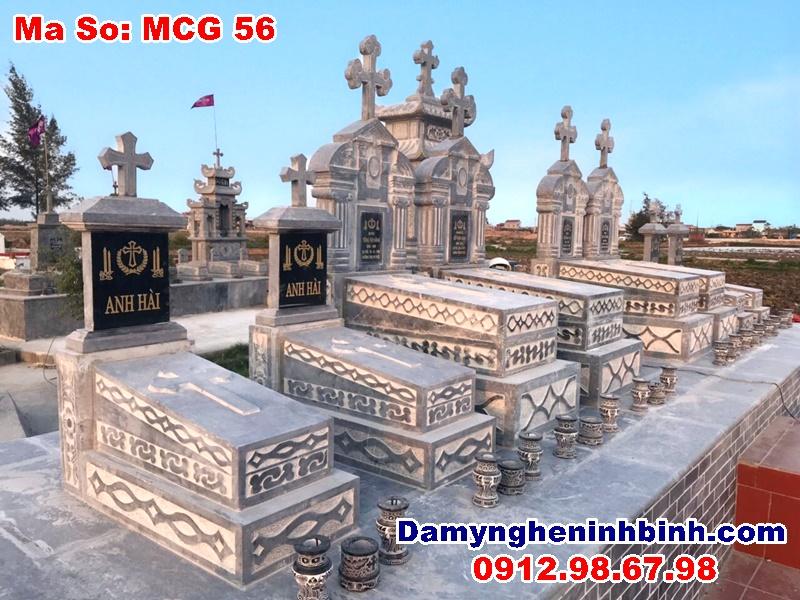 Khu mộ công giáo Nam Định