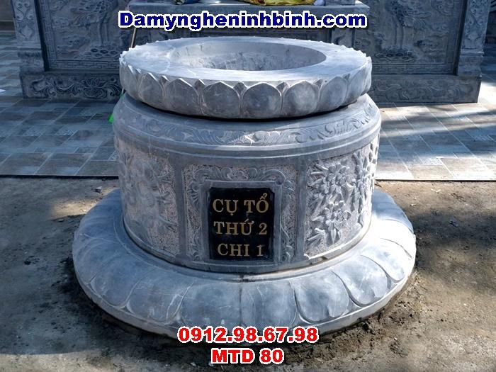 lăng-mộ-đá-hình-tròn-tam-cấp-mtd-80