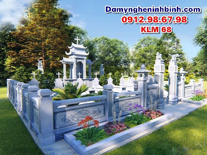Lăng mộ đá đẹp KLM 68