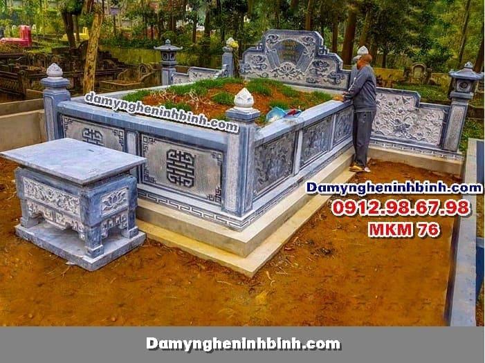 Lăng mộ đá đẹp MKM 76